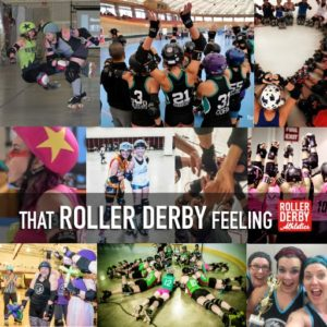 That roller derby feeling