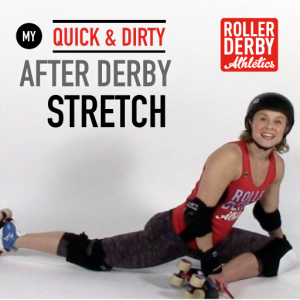 Stretching after derby