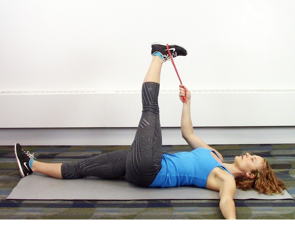How To Tfl It Band Hamstring Stretch Roller Derby