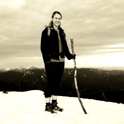 On First Pump Peak of Mt. Seymour, North Vancouver BC
