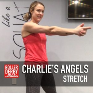 Charlies Angels upper back stretch