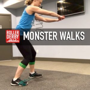 Monster Walks, Roller Derby Athletics
