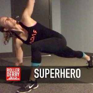 Superhero Stretch - maintenance monday