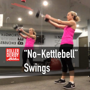 No-kettlebell Swings for RYU One More Rep Challenge