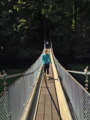 Suspension Bridge at Diez Vistas