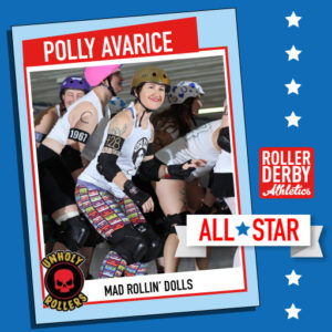 Polly Avarice Photo courtesy Dave Schrader