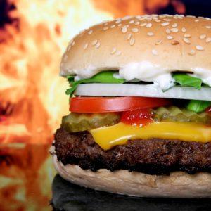 Comfort Food: Burger & Onion Rings | Roller Derby Athletics