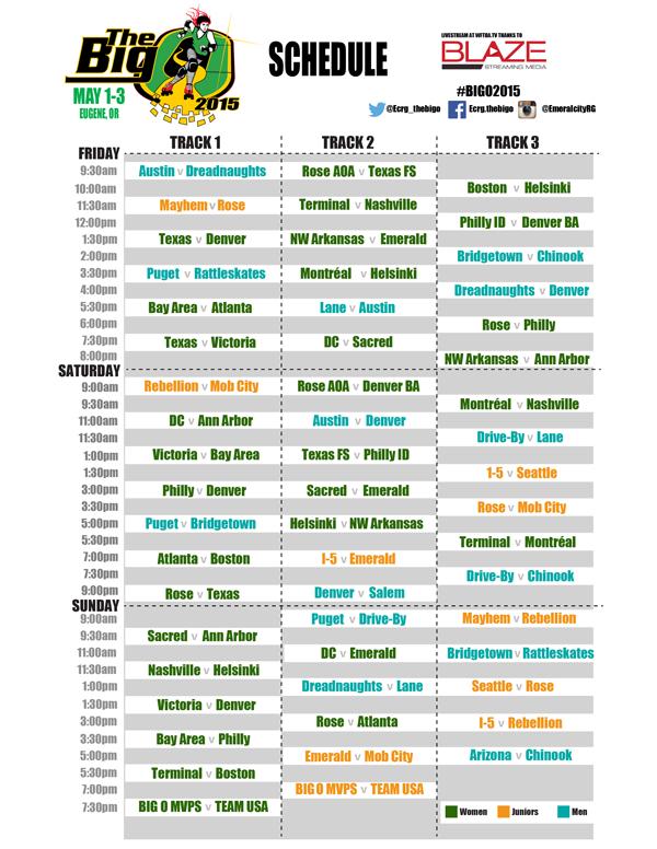 Big O Schedule
