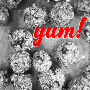 No-Bake energy Balls - photo Ally Hewlett
